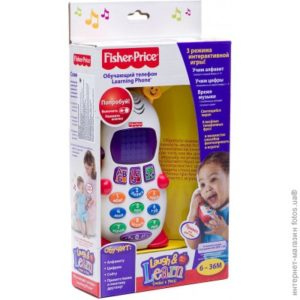 Ученый телефон (на русском языке), Fisher-Price - фото 3